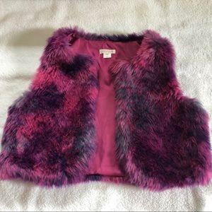Xhilaration Girls Faux Fur Vest